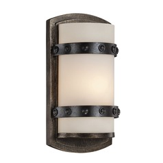 Savoy House Lighting Alsace Reclaimed Wood Sconce