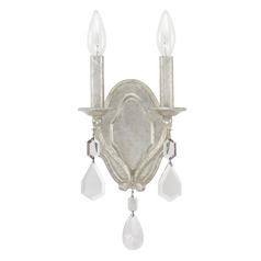 Capital Lighting Blakely Antique Silver Sconce