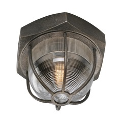 Troy Lighting Acme Aged Silver LED Flushmount Light