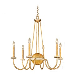 Kalco Lasalle Honey Gold Chandelier