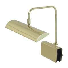 House Of Troy Zenith Polished Brass LED Piano / Banker Lamp