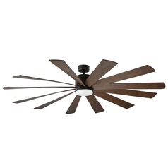 Modern Forms Oil Rubbed Bronze 80-Inch LED Smart Ceiling Fan 2041LM 3000K