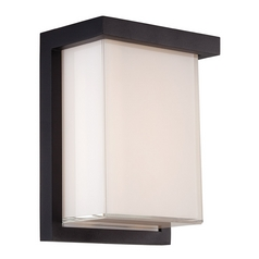 Modern Forms Ledge Black LED Outdoor Wall Light