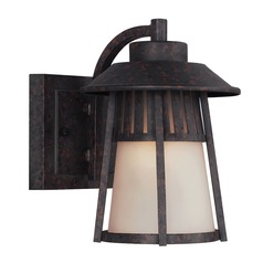 Sea Gull Lighting Hamilton Heights Oxford Bronze Outdoor Wall Light