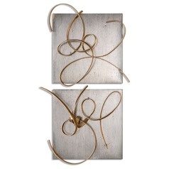 Uttermost Harmony Metal Wall Art, Set of 2