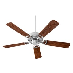 Quorum Lighting Estate Patio Galvanized Ceiling Fan Without Light