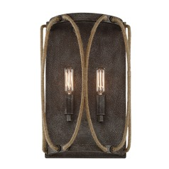 Rust Sconce Keating Collection by Savoy House