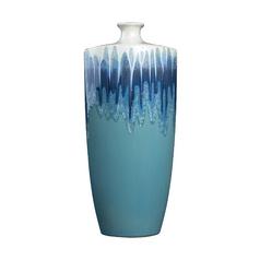 Modern Vase in Ice Cap Finish