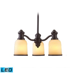 Elk Lighting Brooksdale Oiled Bronze LED Mini-Chandelier