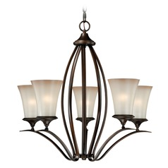 Sonora Venetian Bronze Chandelier by Vaxcel Lighting