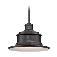 Quoizel Seaford Imperial Bronze Outdoor Hanging Light
