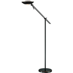 Lite Source Lighting Module Ii Torchiere Lamp with Bowl / Dome Shade