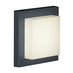 Arnsberg Hondo Dark Grey LED Outdoor Wall Light