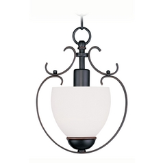 Livex Lighting Brookside Olde Bronze Mini-Pendant Light