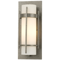 Hubbardton Forge Lighting Hubbardton Forge Single-Light Sconce with Opal Glass 20-5892-20/G65