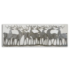Uttermost Herd Of Deer Wall Art