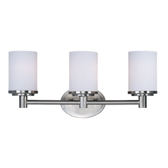 Maxim Lighting Cylinder Satin Nickel Bathroom Light