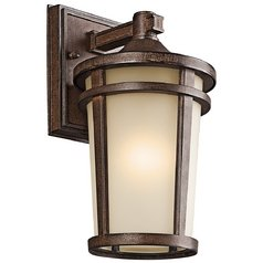 Kichler Outdoor Wall Light in Brown Stone Finish