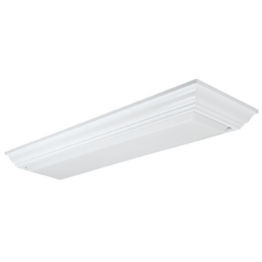 Two-Light Energy Star Qualified Fluorescent Ceiling Light