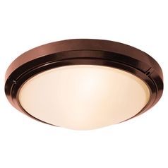 Access Lighting Oceanus Satin Nickel Close To Ceiling Light