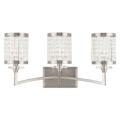 Livex Lighting Grammercy Brushed Nickel Bathroom Light