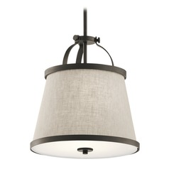 Transitional Pendant Light Olde Bronze Amarena by Kichler Lighting