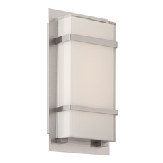 Modern Forms Phantom Stainless Steel LED Outdoor Wall Light