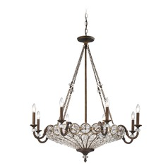 Elk Lighting Christina Mocha Crystal Chandelier