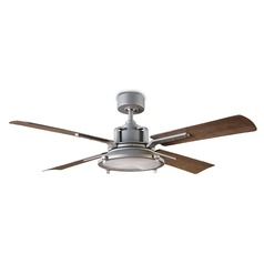 Modern Forms Graphite 56-Inch LED Smart Ceiling Fan 2041LM 3000K