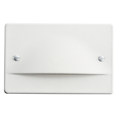 Kichler Lighting Step and Hall Light White LED Recessed Step Light