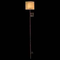 Fine Art Lamps Quadralli Rich Bourbon with Golden Highlights Sconce