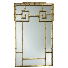 Bamboo Rectangle 23.5-Inch Mirror
