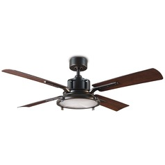 Modern Forms Oil Rubbed Bronze 56-Inch LED Smart Ceiling Fan 2041LM 3000K