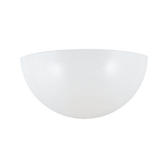 Modern Sconce Wall Light with White in White Finish