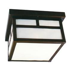 Craftmade International, Inc. Flushmount Outdoor Ceiling Light Fixture CR Z1843-7