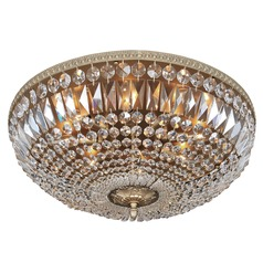 Lemire 8 Light Flush Mount w/ Chrome