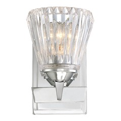 Savoy House Lighting Dresden Chrome Sconce