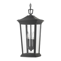 Black Outdoor Hanging Light by Hinkley Lighting