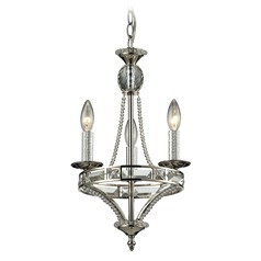 Elk Lighting Aubree Polished Nickel Mini-Chandelier
