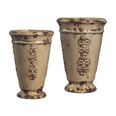 Vase in Alto Cream Finish