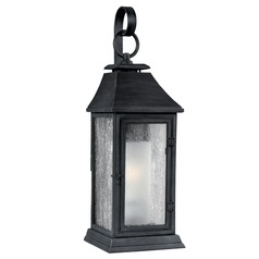 Feiss Lighting Shepherd Dark Weathered Zinc Outdoor Wall Light
