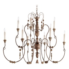 Quorum Lighting Salento Vintage Copper Chandelier