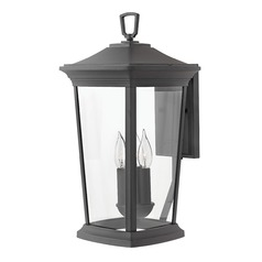 Black Outdoor Wall Light by Hinkley Lighting