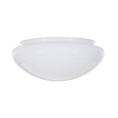 Design Classics Lighting Replacement Mushroom Glass Shade for 6-Inch Flushmount Ceiling Lights G29620