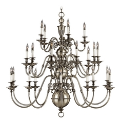 Twenty-Five-Light Chandelier