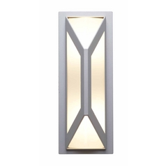 Access Lighting Nyami Satin Nickel Outdoor Wall Light