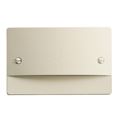 Kichler Lighting Step and Hall Light Almond LED Recessed Step Light