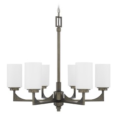 Capital Lighting Flynn Gunmetal Chandelier