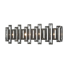 Elk Lighting Crystal Heights Oil Rubbed Bronze Bathroom Light