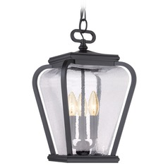 Quoizel Province Mystic Black Outdoor Hanging Light